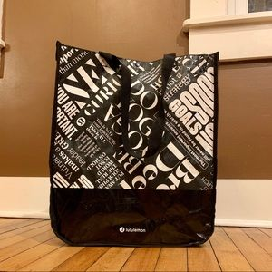 ✨3/$12 Lululemon Do Yoga Reusable Tote Bag